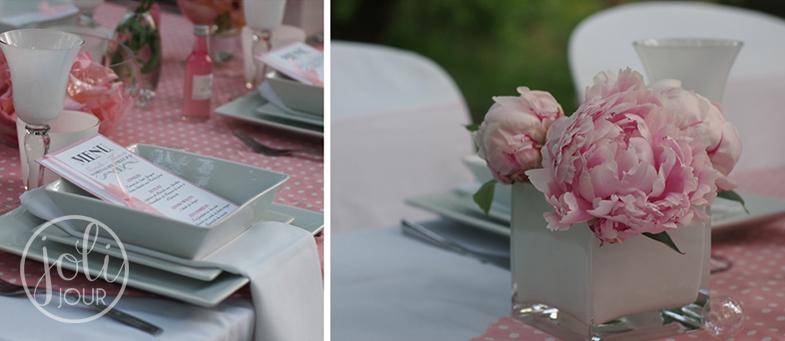 Creation-de-menus-decoratrice-de-mariage-Tours-Poitiers-Angouleme-centre-de-table-champetre-rose-pale-wedding-planner-La-Rochelle-Angouleme