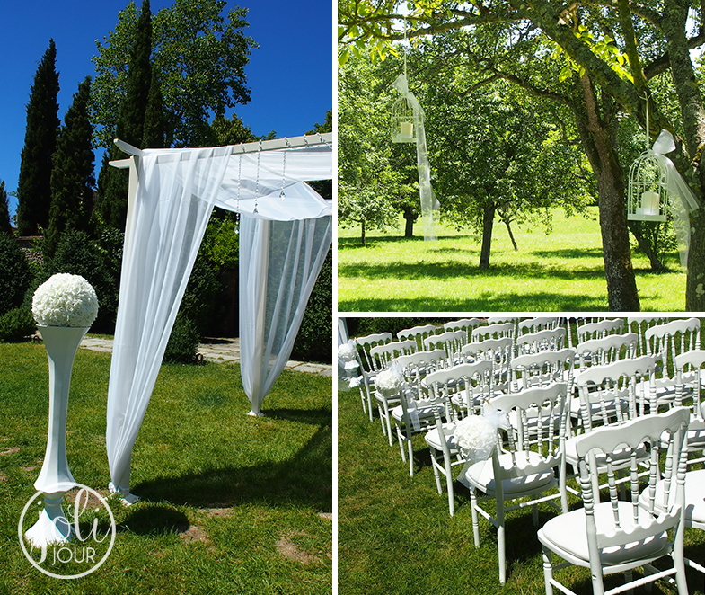 Fleuriste-mariage-Poitiers-Tours-Chatellerault-l-Armandiere-avis-centre-de-table-boule-aquarium-callas-blancs