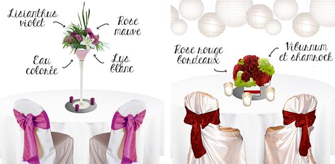Croquis-schema-decoration-de-mariage-prune-violet-mauve-parme-lilas-et-decor-de-salle-lanternes-blanches-fleurs-bordeaux