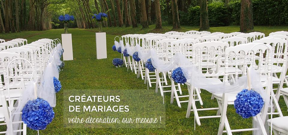 Decoration mariage Poitiers Decoratrice Niort wedding planner La Rochelle Tours Angouleme ceremonie exterieur location chateau salle de reception