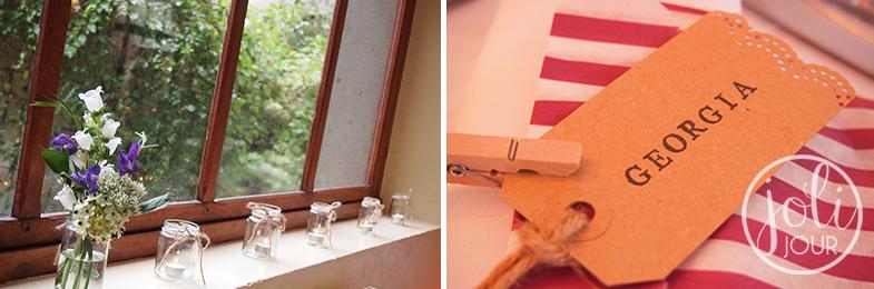 details-decoration-de-table-violet-cadeau-invite-sachet-raye-mariage-vintage